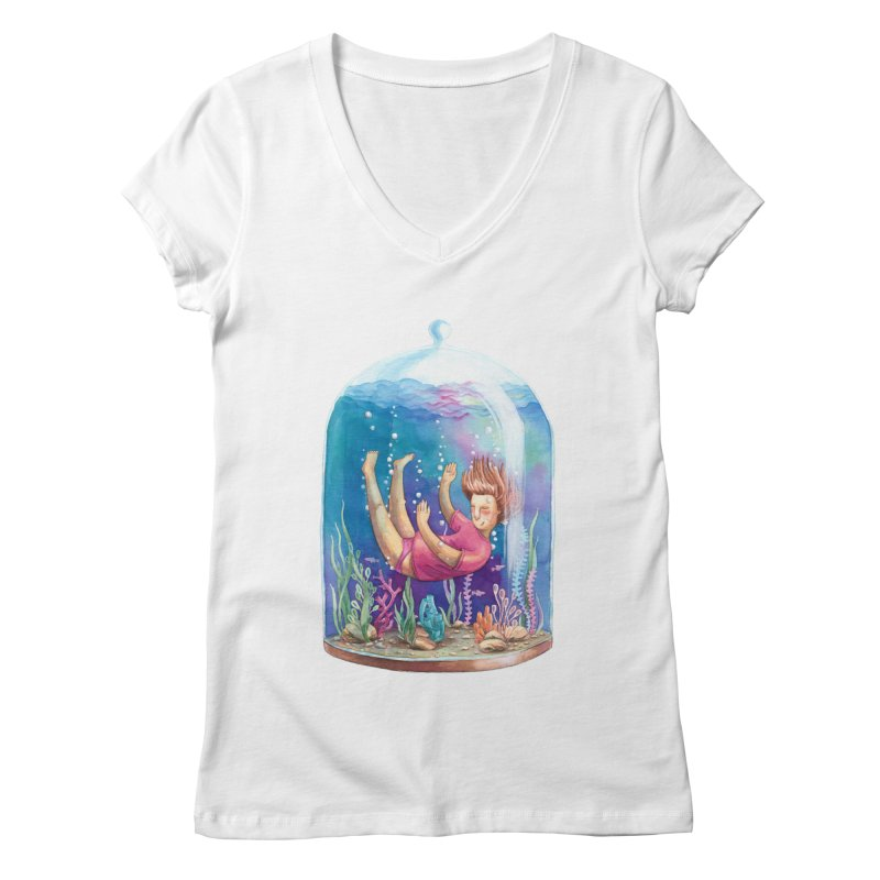 Dream NR1 Women's V-Neck by StellaCaraman's