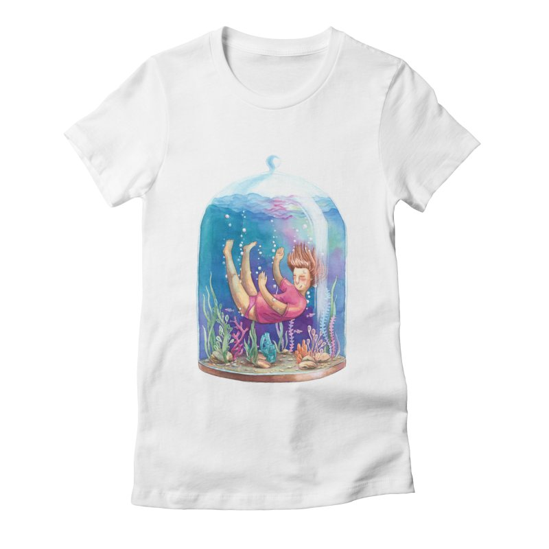 Dream NR1 Women's Fitted T-Shirt by StellaCaraman's