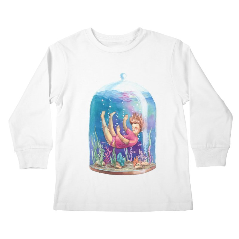 Dream NR1 Kids Longsleeve T-Shirt by StellaCaraman's