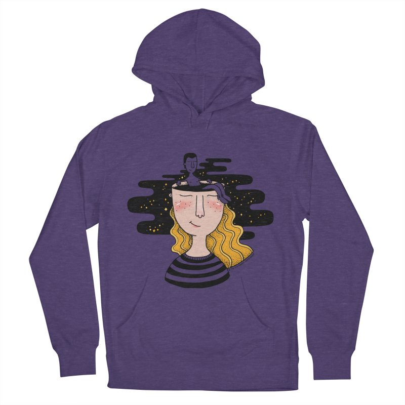 Always In My Mind Women's French Terry Pullover Hoody by StellaCaraman's