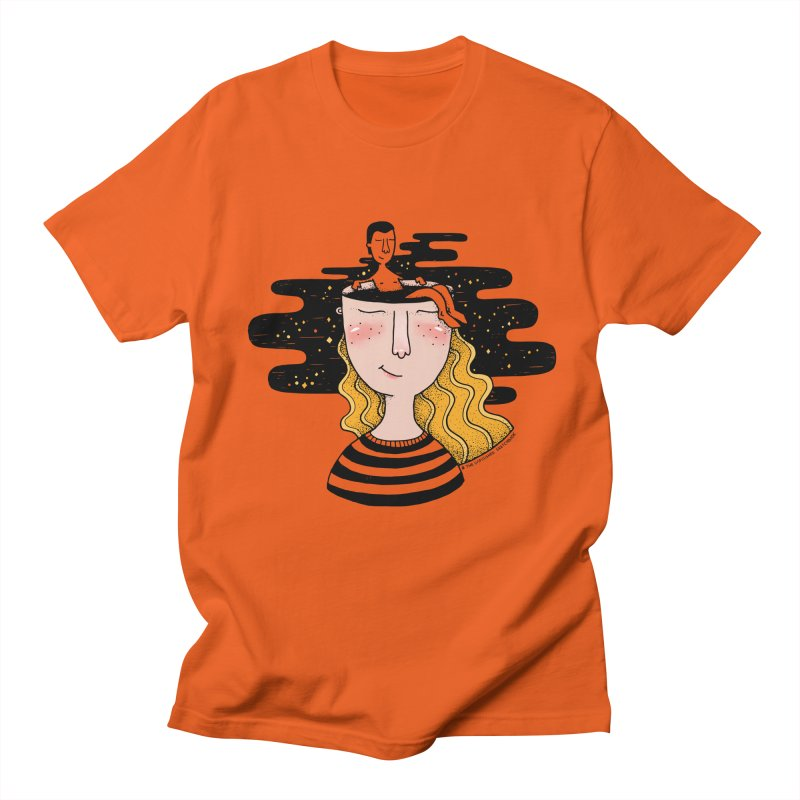 Always In My Mind Men's T-shirt by StellaCaraman's