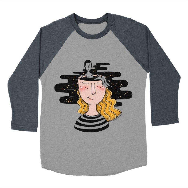 Always In My Mind Women's Baseball Triblend Longsleeve T-Shirt by StellaCaraman's