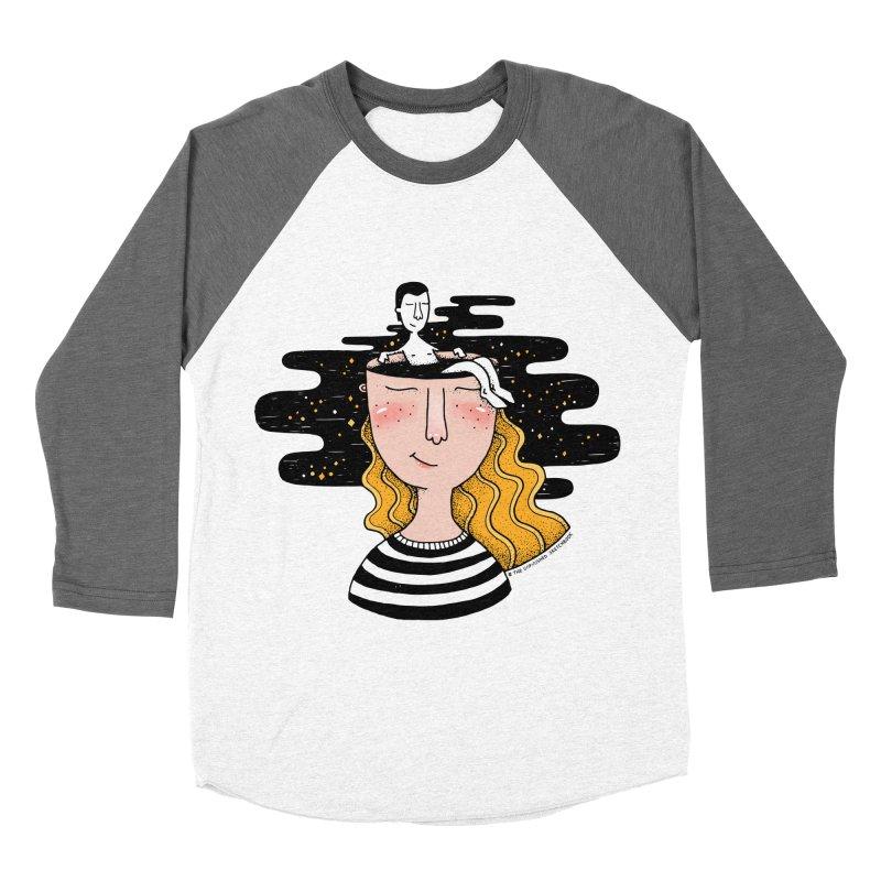 Always In My Mind Men's Baseball Triblend T-Shirt by StellaCaraman's