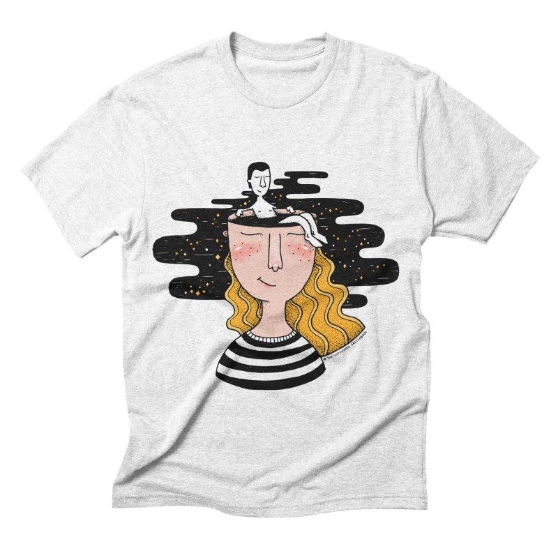 Always In My Mind Men's Triblend T-shirt by StellaCaraman's