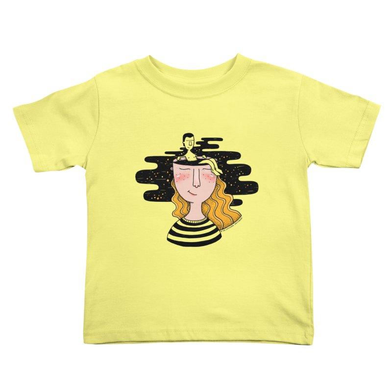 Always In My Mind Kids Toddler T-Shirt by StellaCaraman's