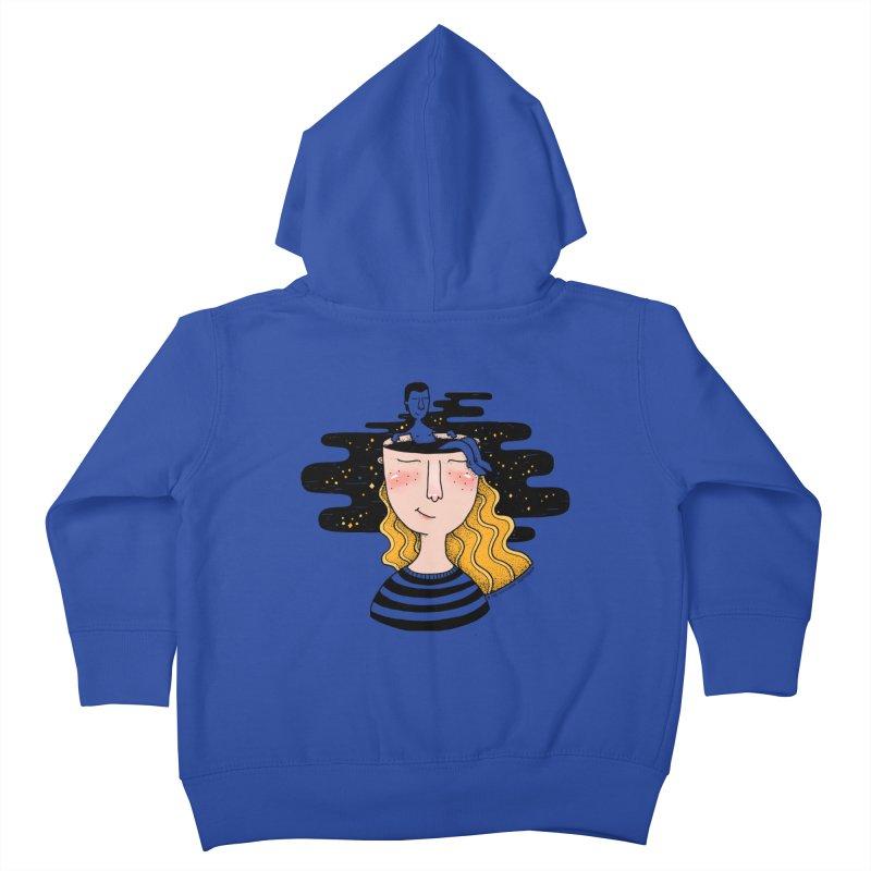Always In My Mind Kids Toddler Zip-Up Hoody by StellaCaraman's