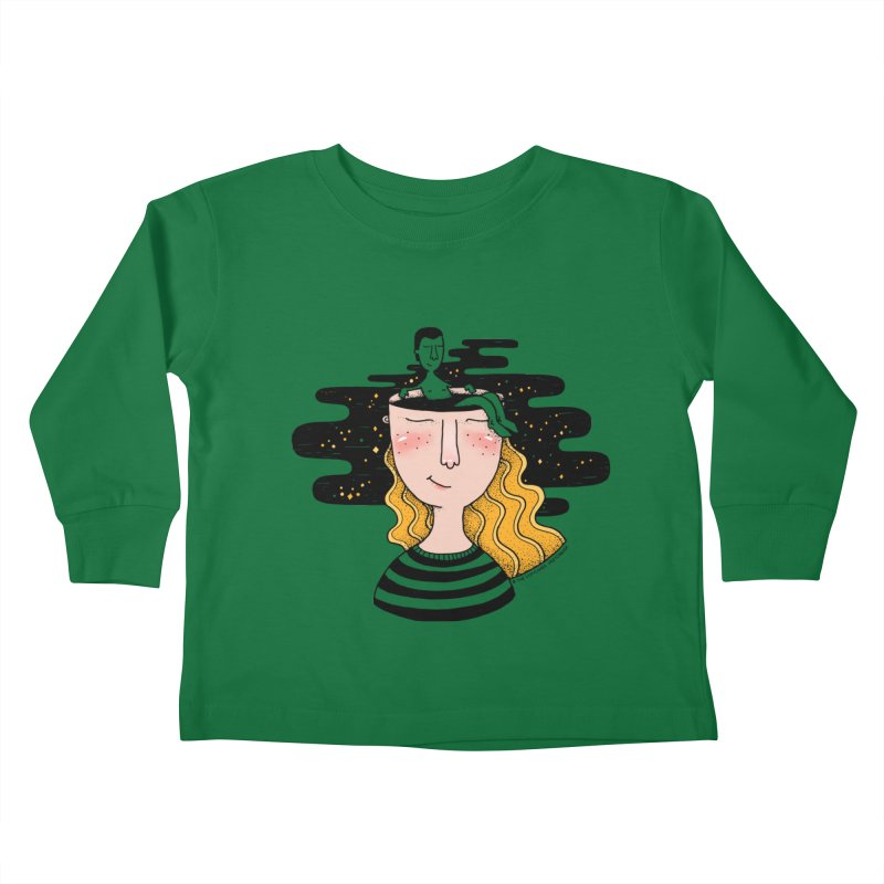 Always In My Mind Kids Toddler Longsleeve T-Shirt by StellaCaraman's