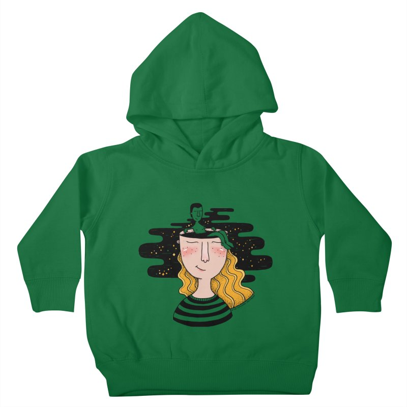 Always In My Mind Kids Toddler Pullover Hoody by StellaCaraman's