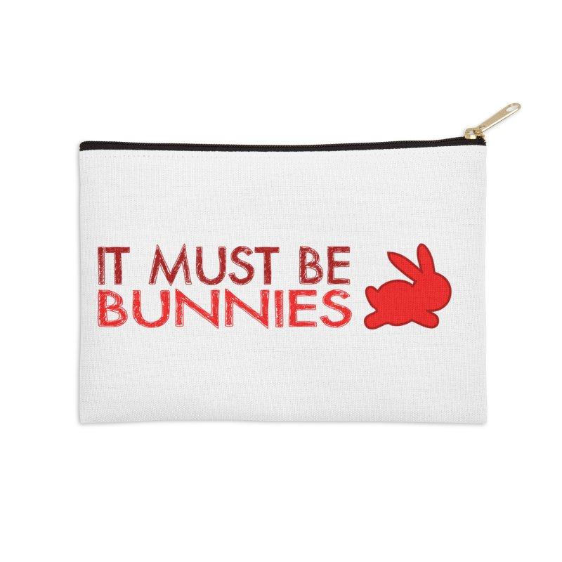 It must be bunnies Accessories Zip Pouch by Stellarevolutiondesigns's Artist Shop