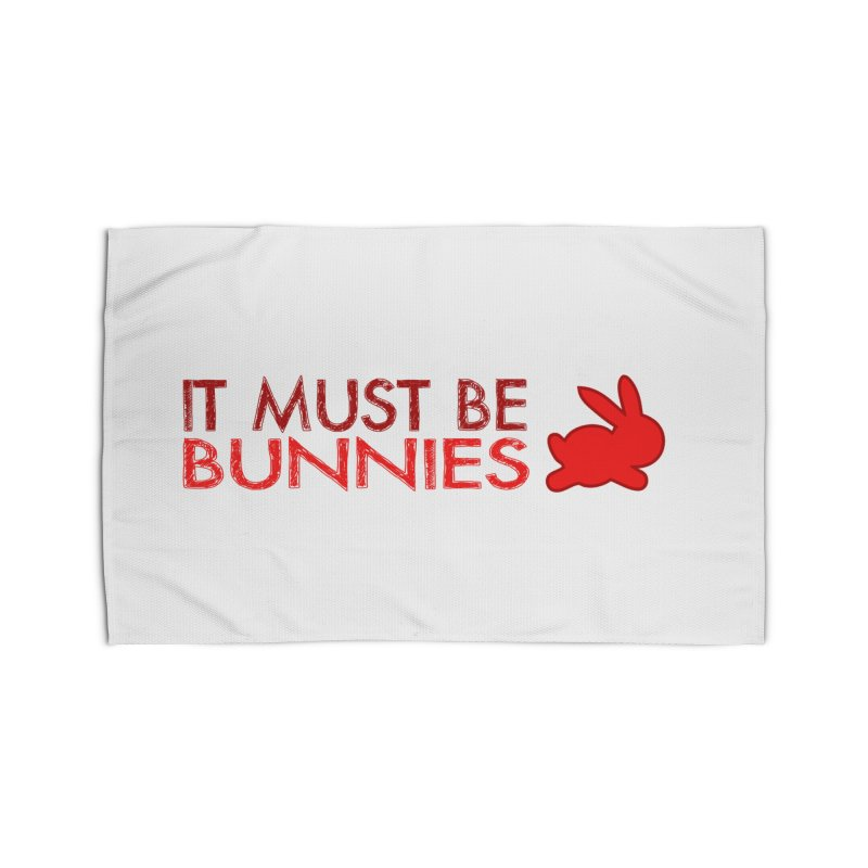 It must be bunnies Home Rug by Stellarevolutiondesigns's Artist Shop