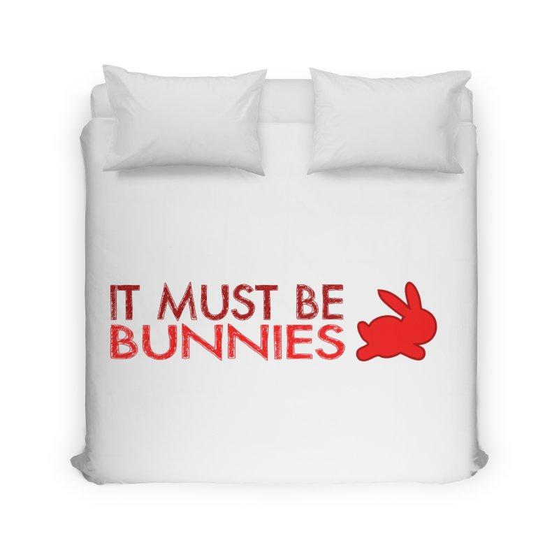 It must be bunnies Home Duvet by Stellarevolutiondesigns's Artist Shop
