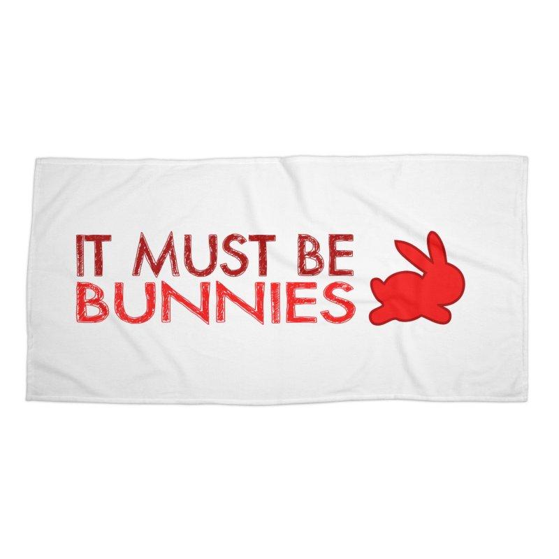 It must be bunnies Accessories Beach Towel by Stellarevolutiondesigns's Artist Shop