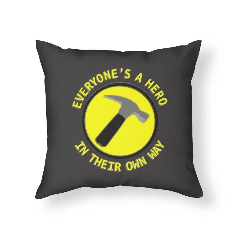 Capt Ham Home Throw Pillow by Stellarevolutiondesigns's Artist Shop