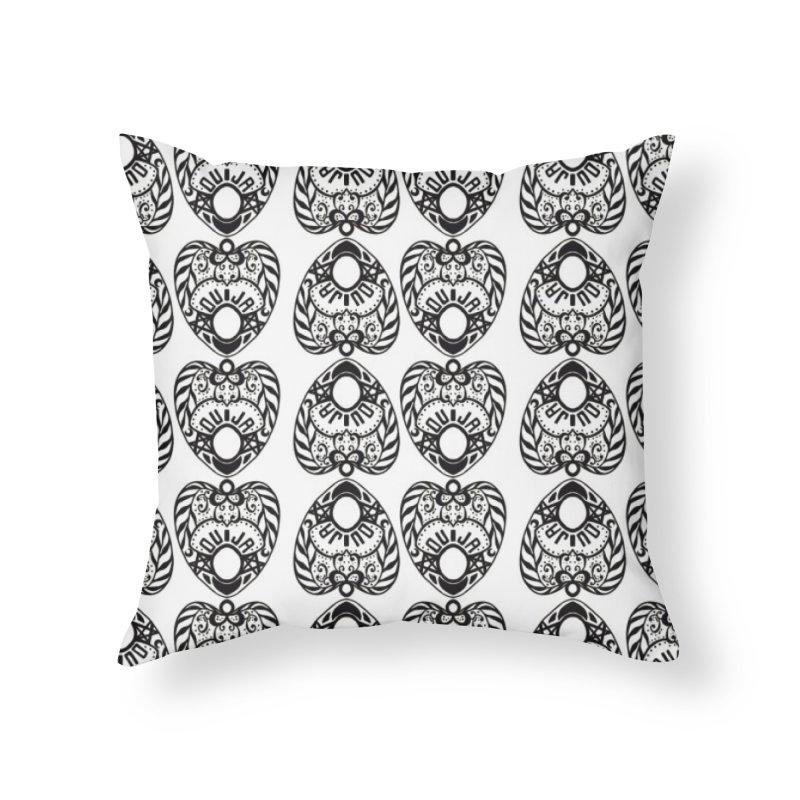 Ouija games white Home Throw Pillow by Stellarevolutiondesigns's Artist Shop