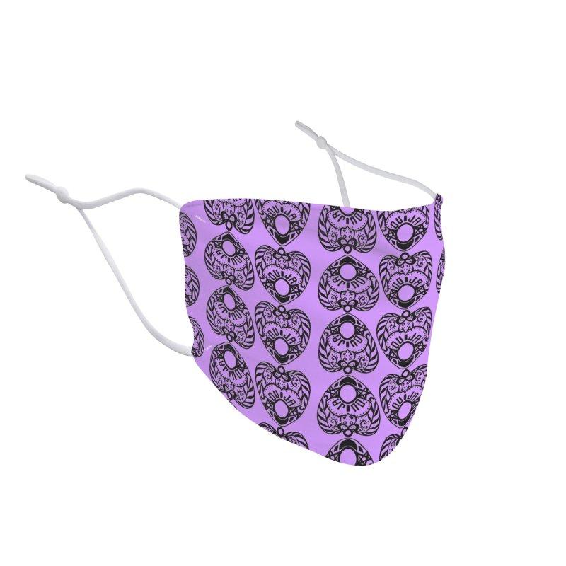 Purple ouija Accessories Face Mask by Stellarevolutiondesigns's Artist Shop