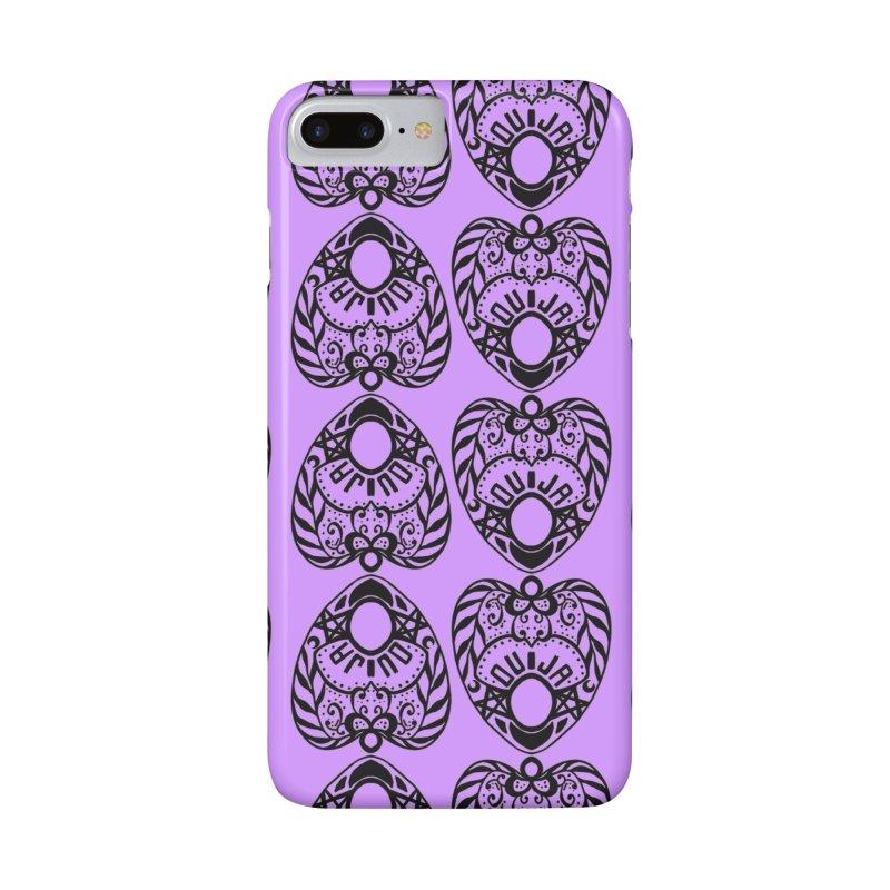 Purple ouija Accessories Phone Case by Stellarevolutiondesigns's Artist Shop
