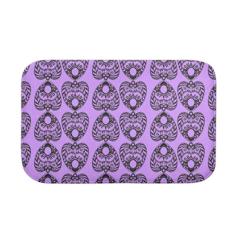 Purple ouija Home Bath Mat by Stellarevolutiondesigns's Artist Shop