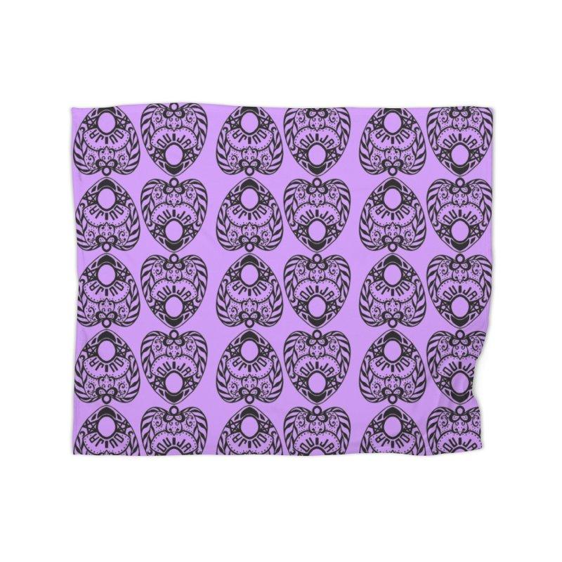 Purple ouija Home Blanket by Stellarevolutiondesigns's Artist Shop