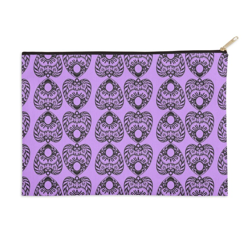 Purple ouija Accessories Zip Pouch by Stellarevolutiondesigns's Artist Shop