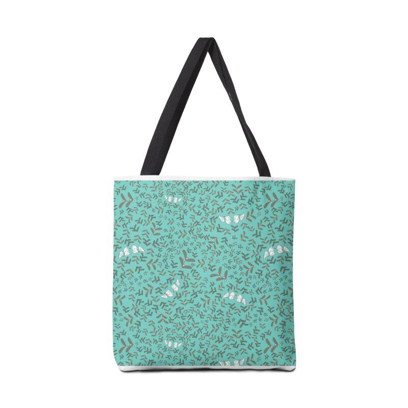 Lovebirds mistletoe Accessories Bag by Stellarevolutiondesigns's Artist Shop