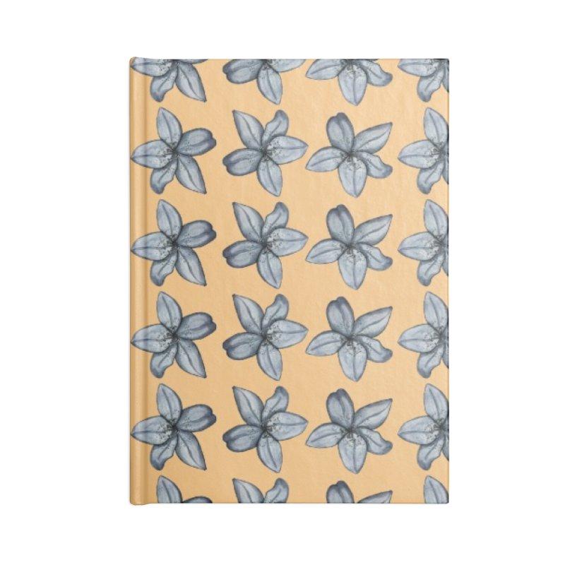 Reverse lilies Accessories Notebook by Stellarevolutiondesigns's Artist Shop