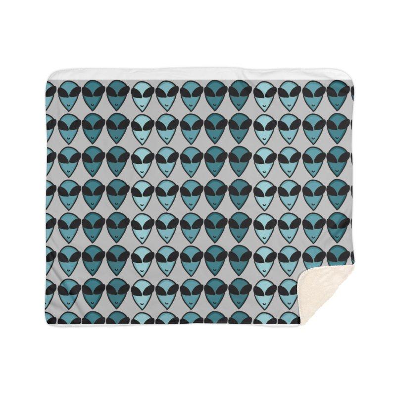 Little green men Home Blanket by Stellarevolutiondesigns's Artist Shop