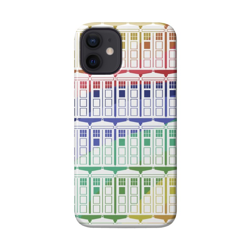 Time box rainbow Accessories Phone Case by Stellarevolutiondesigns's Artist Shop