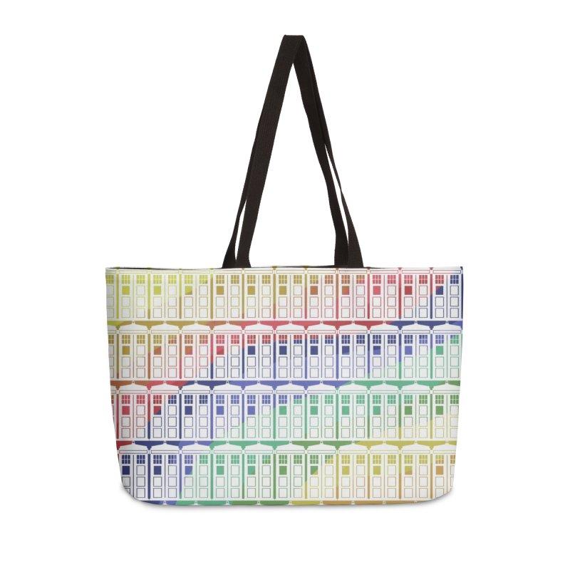Time box rainbow Accessories Bag by Stellarevolutiondesigns's Artist Shop