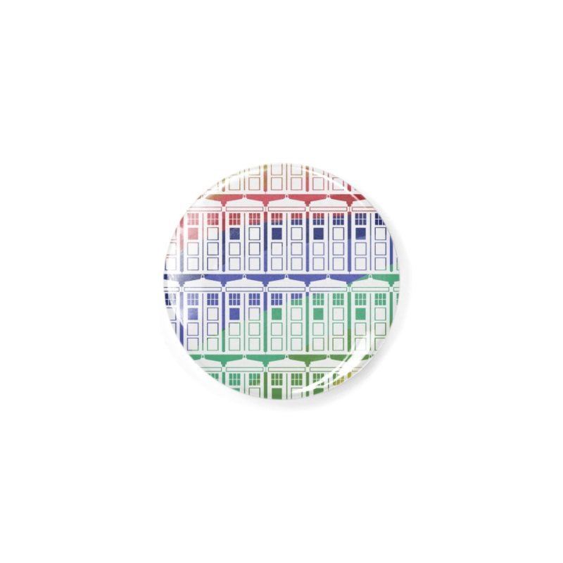 Time box rainbow Accessories Button by Stellarevolutiondesigns's Artist Shop