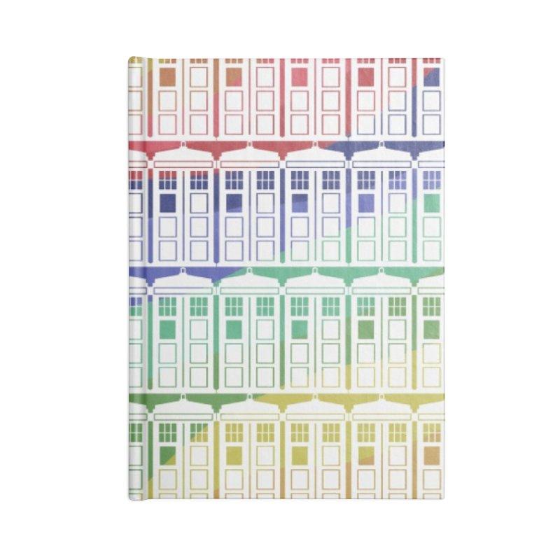 Time box rainbow Accessories Notebook by Stellarevolutiondesigns's Artist Shop