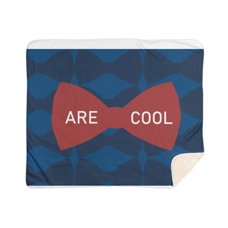 So Cool - Bowties 11th Doctor Home Blanket by Stellarevolutiondesigns's Artist Shop