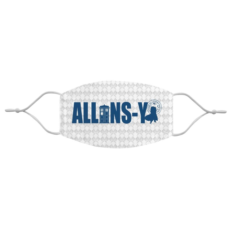 Allons-y Tenth Doctor Accessories Face Mask by Stellarevolutiondesigns's Artist Shop