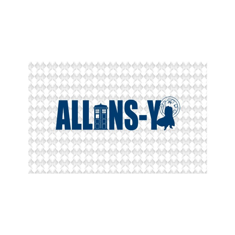 Allons-y Tenth Doctor Accessories Zip Pouch by Stellarevolutiondesigns's Artist Shop