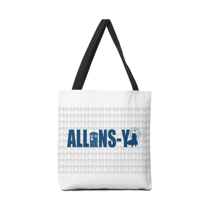 Allons-y Tenth Doctor Accessories Bag by Stellarevolutiondesigns's Artist Shop