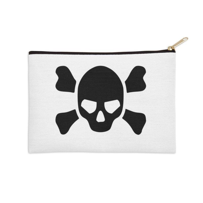 skull x Accessories Zip Pouch by Stellarevolutiondesigns's Artist Shop