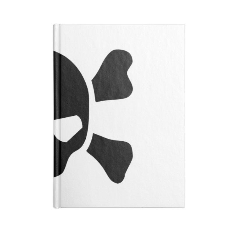 skull x Accessories Notebook by Stellarevolutiondesigns's Artist Shop