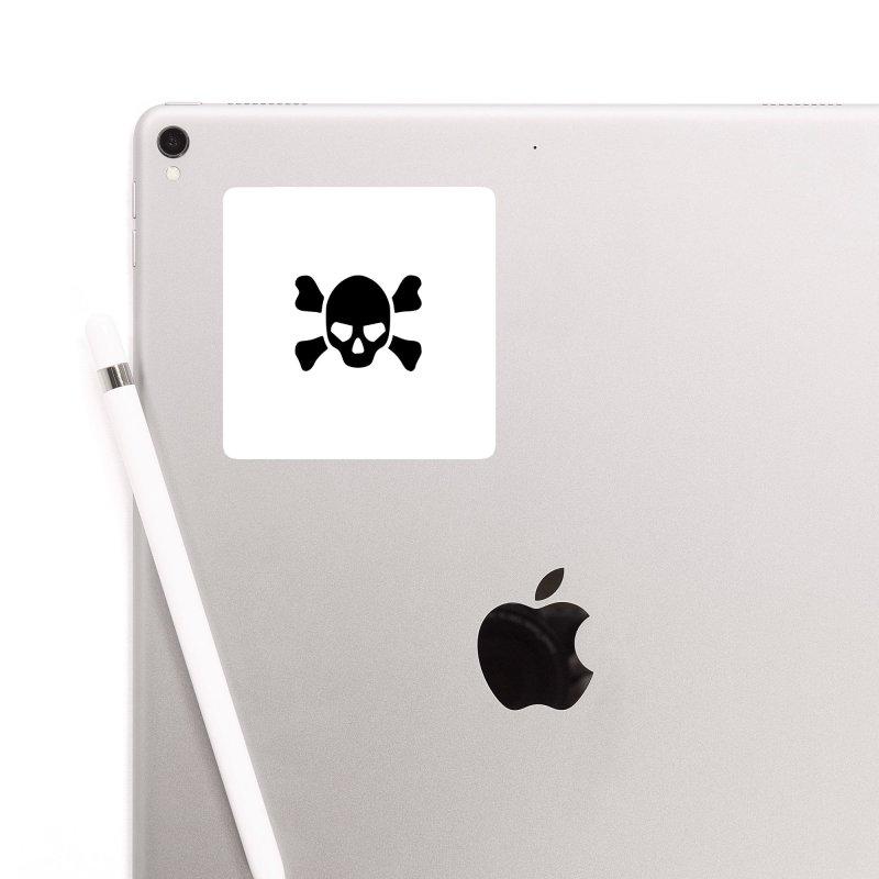 skull x Accessories Sticker by Stellarevolutiondesigns's Artist Shop