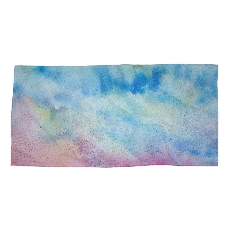 colourful clouds Accessories Beach Towel by Stellarevolutiondesigns's Artist Shop