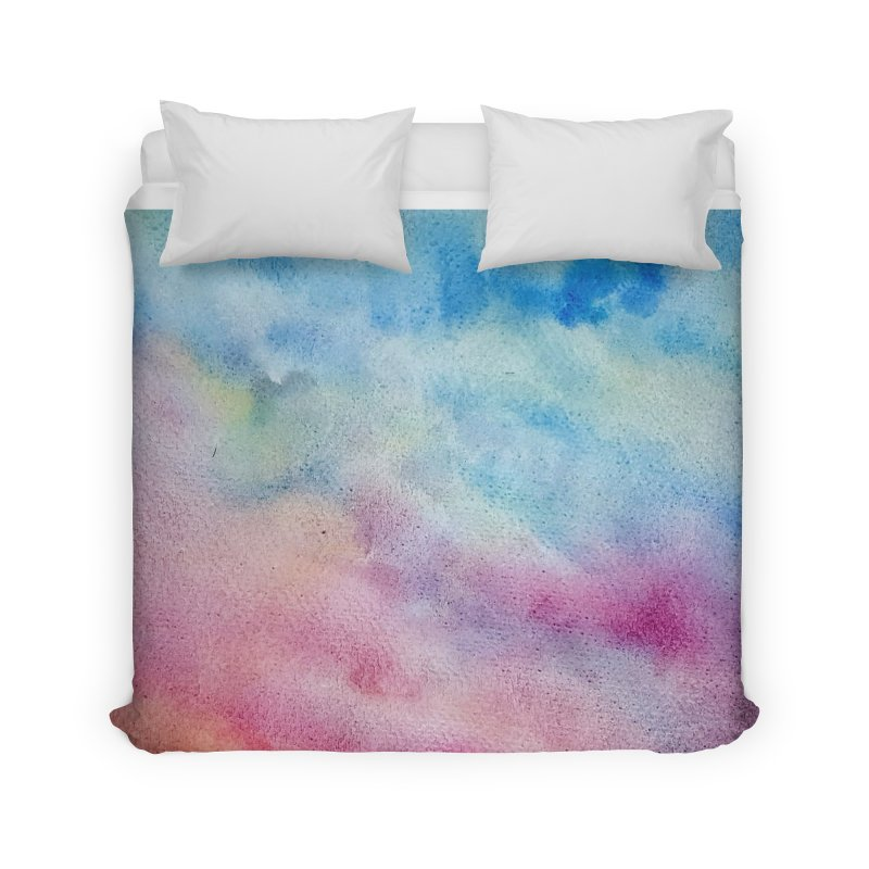 colourful clouds Home Duvet by Stellarevolutiondesigns's Artist Shop