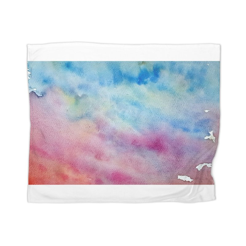 colourful clouds Home Blanket by Stellarevolutiondesigns's Artist Shop