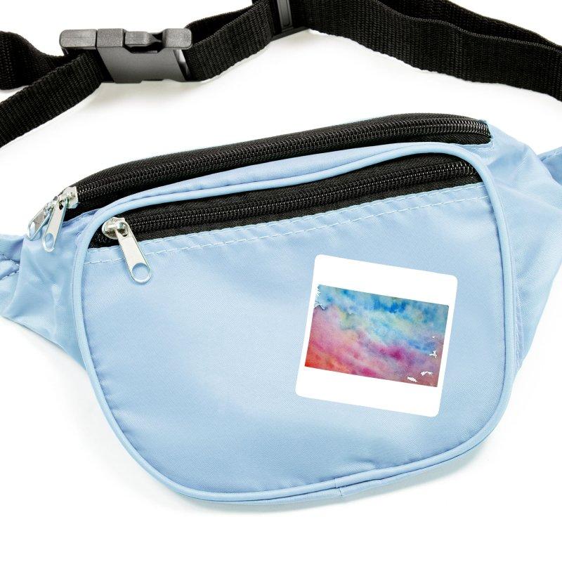 colourful clouds Accessories Sticker by Stellarevolutiondesigns's Artist Shop