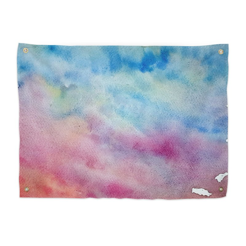 colourful clouds Home Tapestry by Stellarevolutiondesigns's Artist Shop
