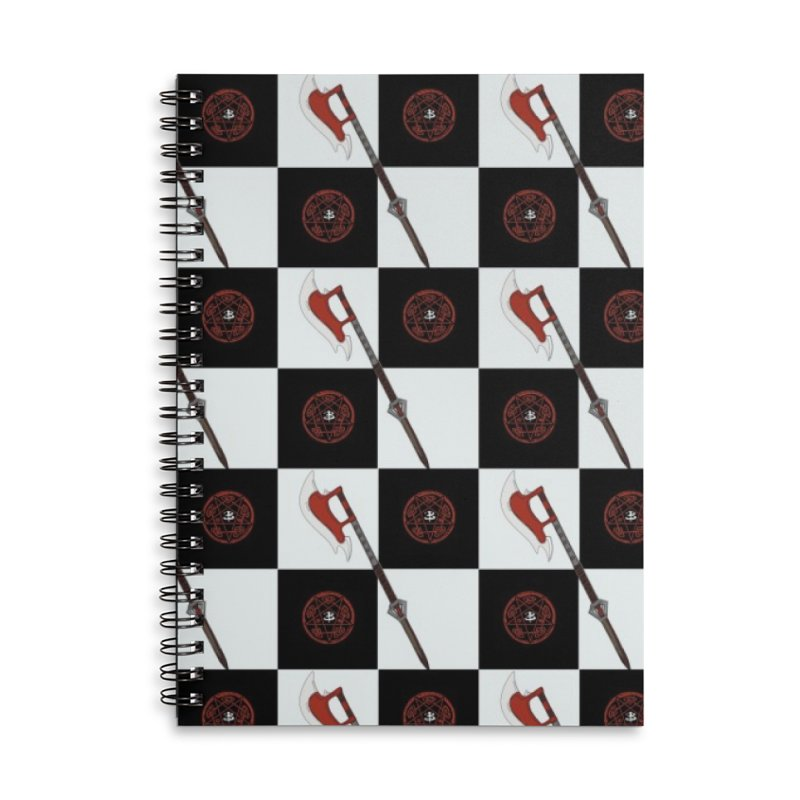 slayer scythe and the hellmouth Accessories Notebook by Stellarevolutiondesigns's Artist Shop