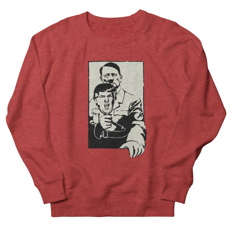Hitler with Trump mask (based on 1968 Paris Riots Poster) Women's Sweatshirt by StencilActiv's Shop