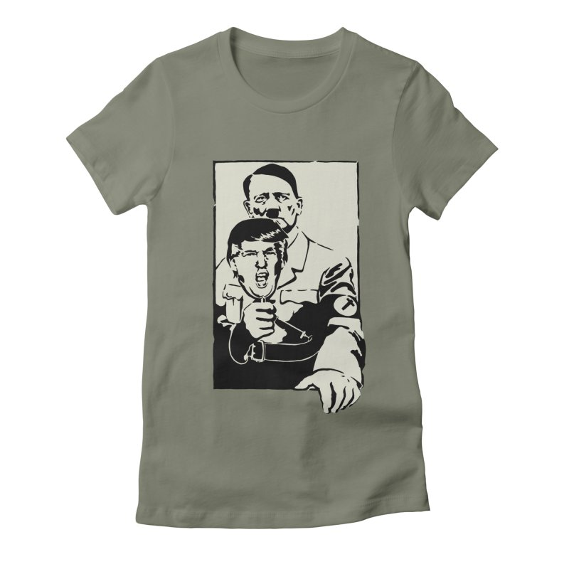 Hitler with Trump mask (based on 1968 Paris Riots Poster)   by StencilActiv's Shop