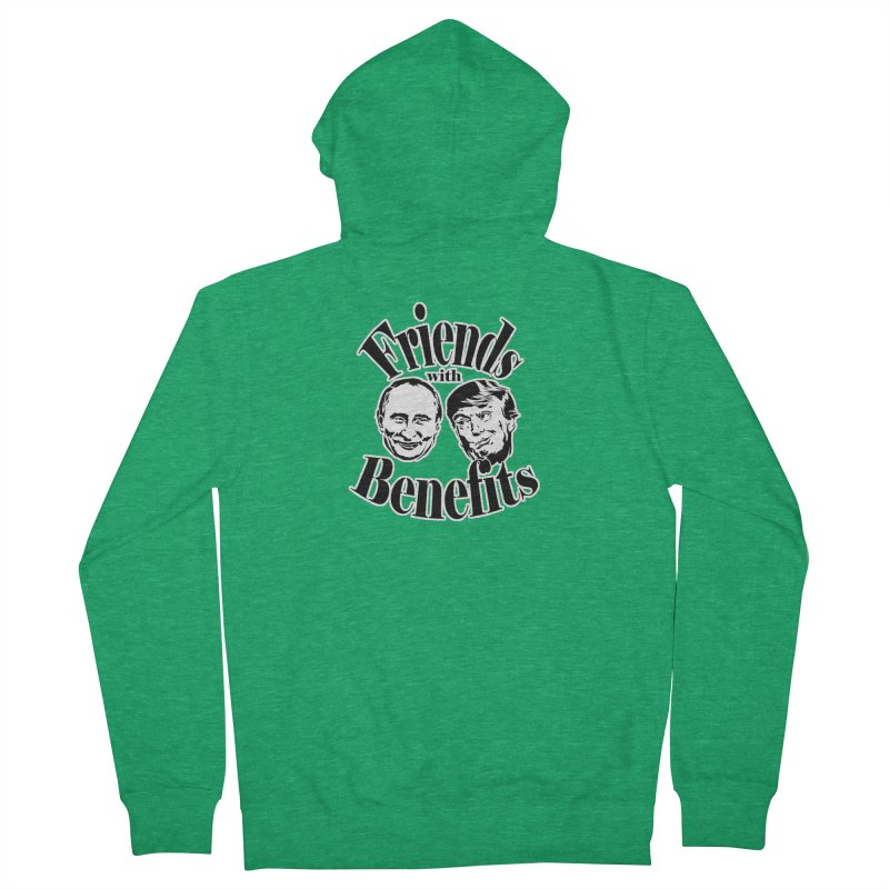 Friends with Benefits Men's Zip-Up Hoody by StencilActiv's Shop