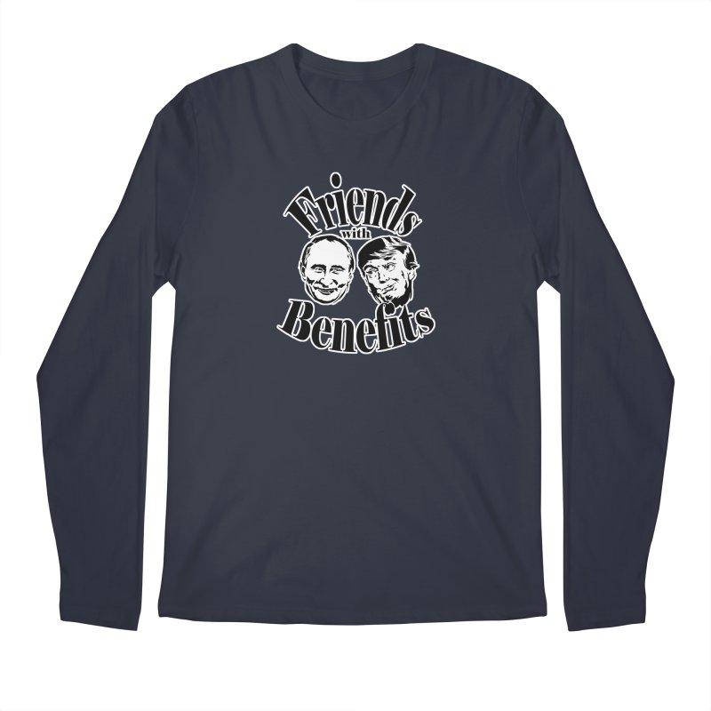 Friends with Benefits Men's Longsleeve T-Shirt by StencilActiv's Shop