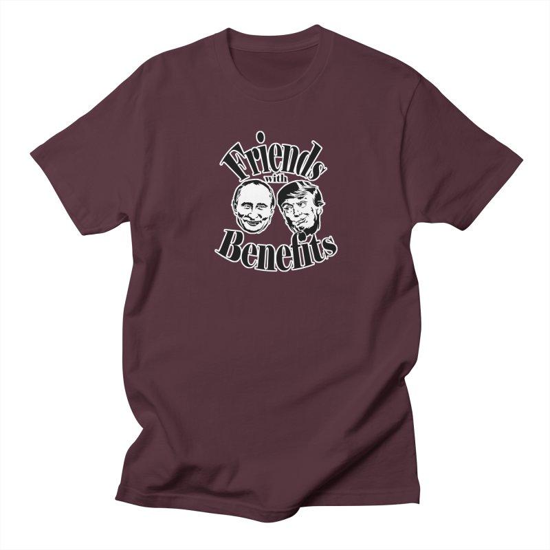 Friends with Benefits Men's T-shirt by StencilActiv's Shop