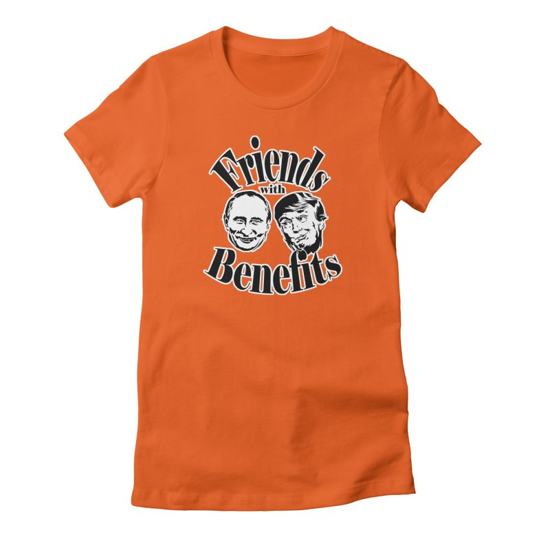 Friends with Benefits Women's Fitted T-Shirt by StencilActiv's Shop