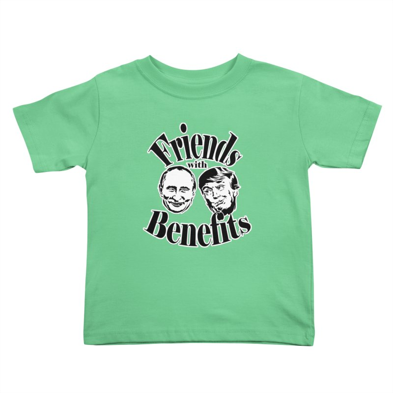 Friends with Benefits Kids Toddler T-Shirt by StencilActiv's Shop